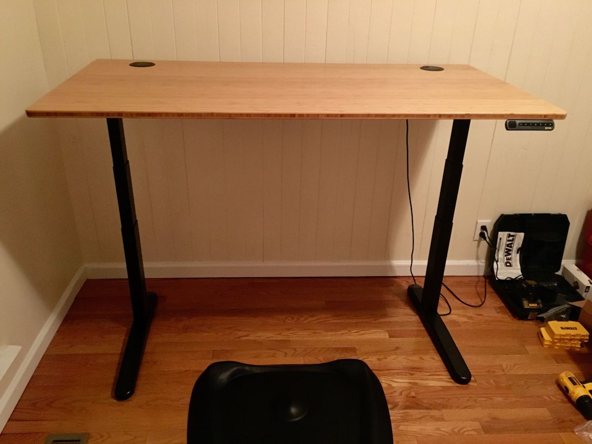 Jarvis Bamboo desk from Fully